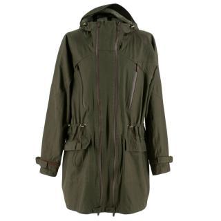 Gucci Men's Lightweight oversized Raincoat/Parka