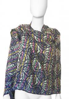 MIssoni Jacquard Floral Knit Shawl