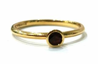 Red fair trade red sapphire ring
