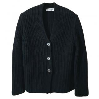 Fabiana Filippi black wool cardigan