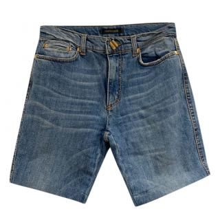 Roberto Cavalli Denim Shorts