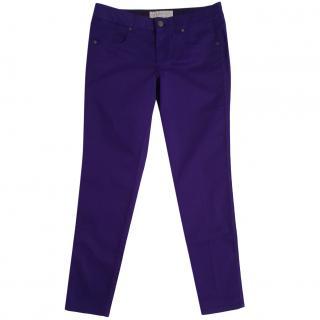 Stella McCartney Purple Jeans