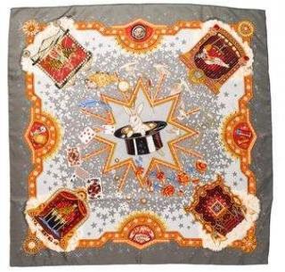 Hermes La Magie silk scarf