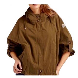 Moncler live green short parka jacket
