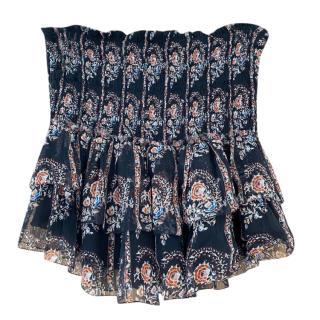 Isabel Marant tiered floaty mini skirt