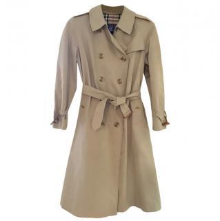 Burberry classic ladies trench coat, size 14