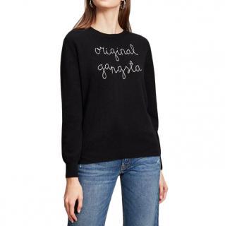Lingua Franca Original Gangsta cashmere jumper