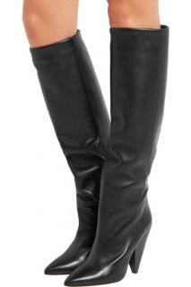 Isabel Marant Black Leather Laith Boots