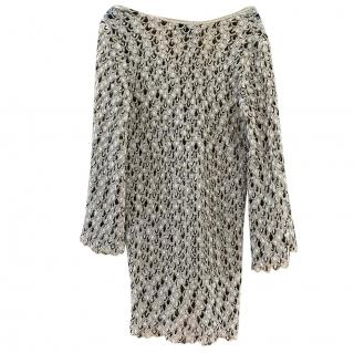 Missoni Gold Crochet Knit Cover-Up