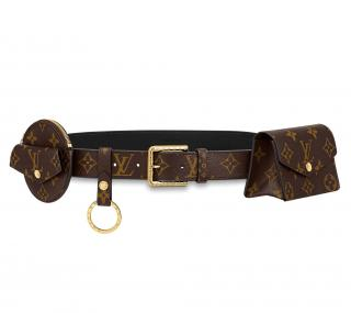 Louis Vuitton Daily Multi Pocket 30mm Belt - Size 80 / SOLD OUT