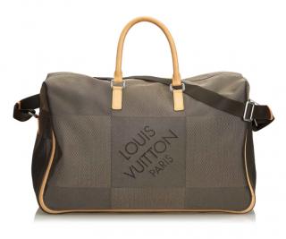 Louis Vuitton Terre Damier Geant Canvas Souverain Duffel Bag