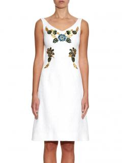 Dolce & Gabbana Embellished Jacquard Dress