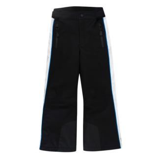 Moncler Enfant Black, Blue & White Ski Trousers