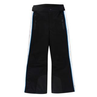 Moncler Enfant Black, Blue & White Ski Trousers