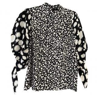 Paper London Floral Mix Puff Sleeve Top