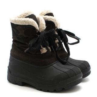 Moncler Enfant Christian Snow Boots