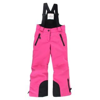 Moncler Enfant Pink Padded Salopettes