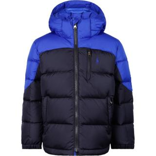 Polo Ralph Lauren blue & black down padded puffer
