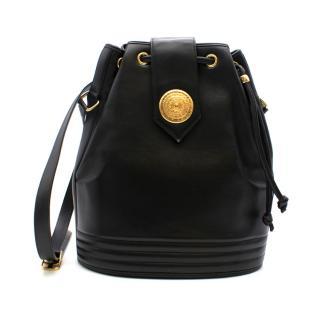 Yves Saint Laurent Vintage Leather Bucket Bag