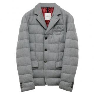 Moncler Rodin Grey Down Jacket