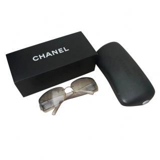 Chanel Vintage Iridescent Sunglasses