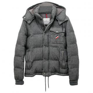 Moncler Grey Cezanne Down Jacket