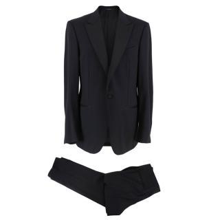 Ermenegildo Zegna Two Piece Black Wool Suit