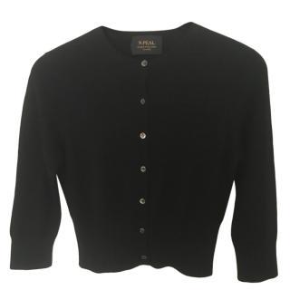 N Peal Short Cashmere Cardigan