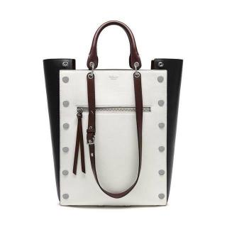 Mulberry Black & White Large Maple Tote Bag