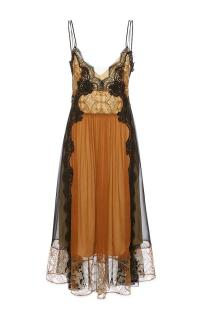 Alberta Ferretti delicate silk evening dress