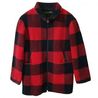 Pendleton Red & Black Wool Jacket