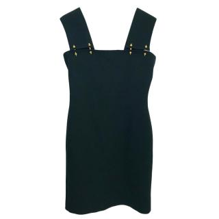 Lnavin Black Pinafore Dress