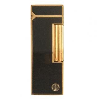 Dunhill Vintage Black Gold Plated Lighter