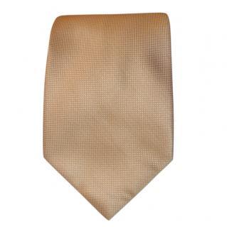 Dolce & Gabbana Gold Silk Tie