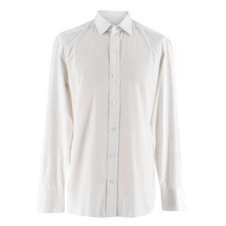 Tom Ford Slim Fit Barel Cuff Poplin Shirt