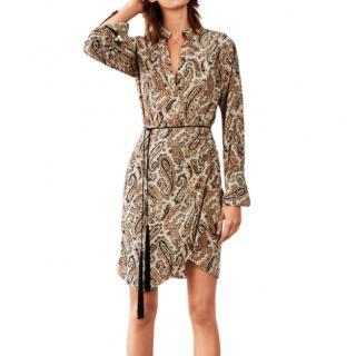 Nili Lotan Leora silk crepe de chine dress