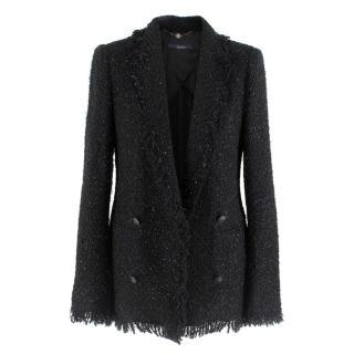 Laurel Black Metallic Tweed Jacket