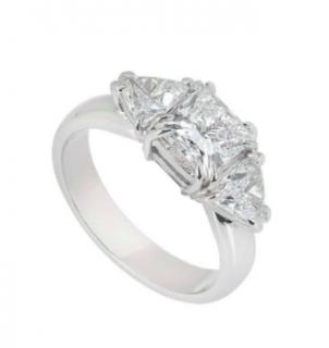 Bespoke Princess Cut Diamond Ring