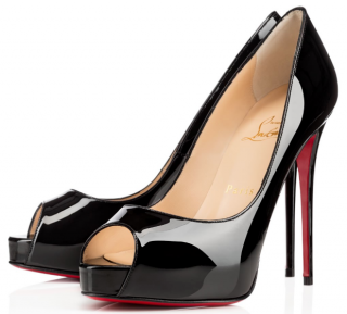 Christian Louboutin very prive 120 patent pumps