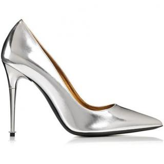 Tom Ford Metallic Leather Pumps