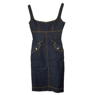 Dsqaured2 Denim Tube Dress