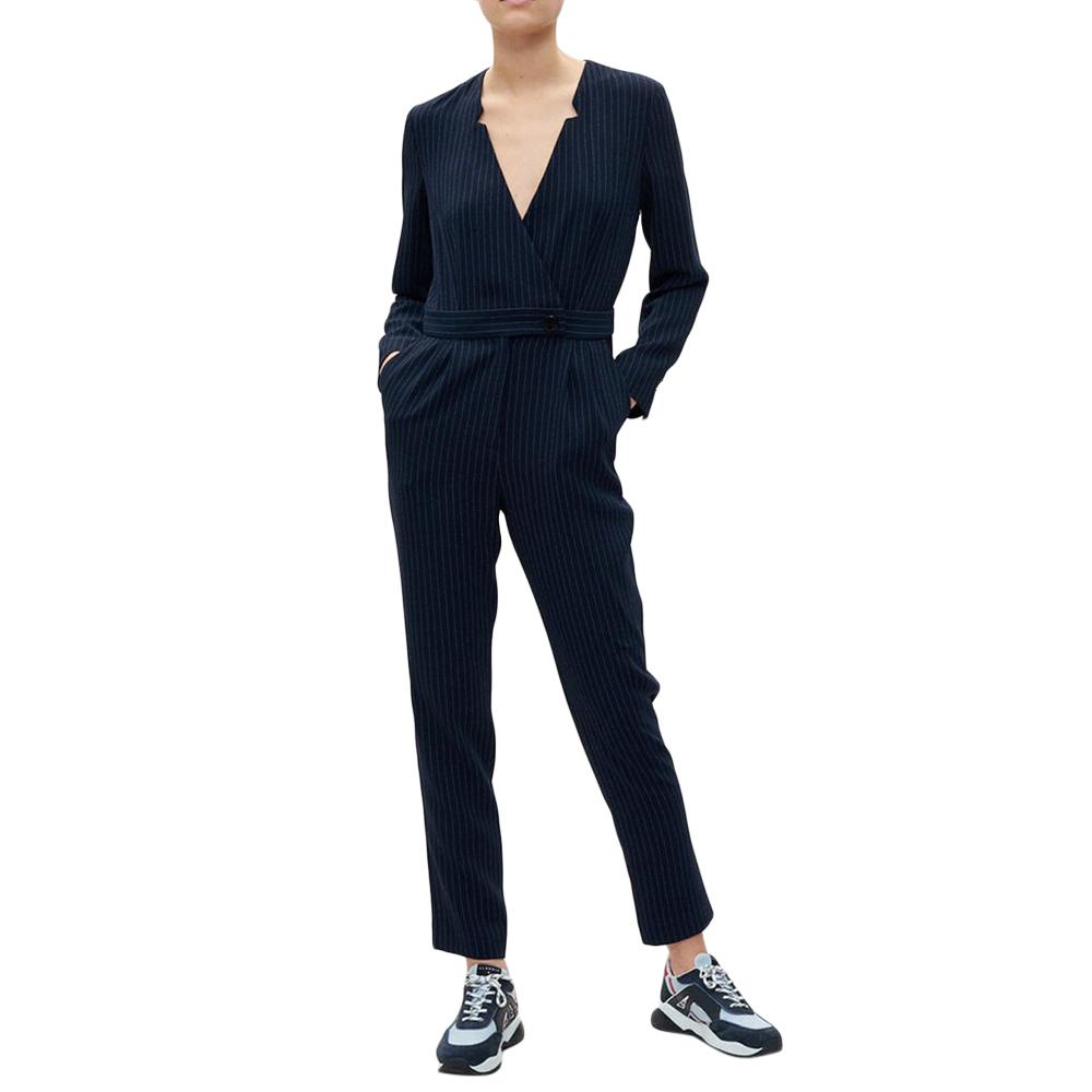 Claudie Pierlot Pin Stripe Jumpsuit