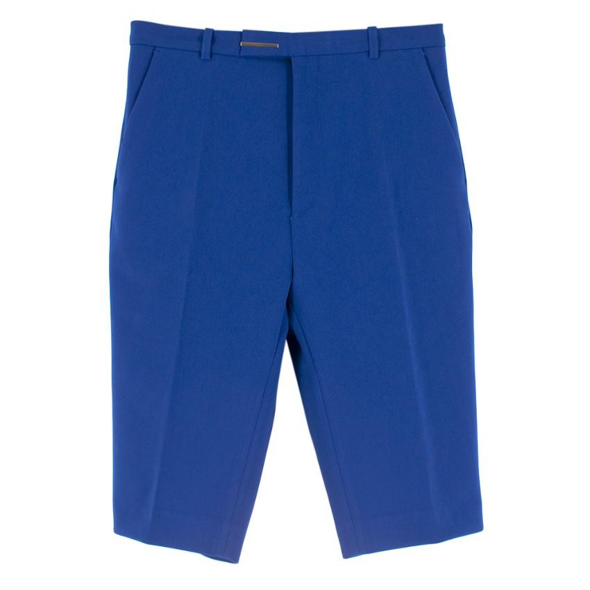Raf Simons High Waisted Narrow Fitting Shorts