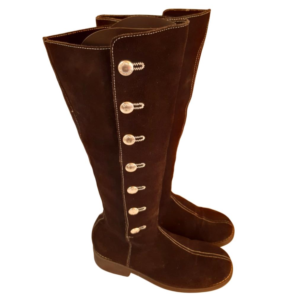 Dolce & Gabbana Junior Black Boots