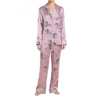 Olivia Von Halle Lila Zoe Silk Pyjamas