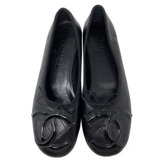 Chanel Cambon ballet flats