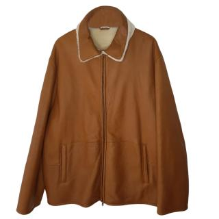 Club by Schiatti Leather & Shearling Jacket
