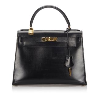 Hermes Black Kelly Retourne 28
