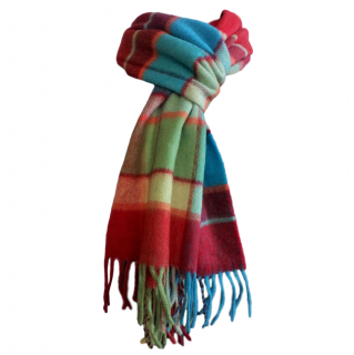 Elgin Checked Cashmere Scarf