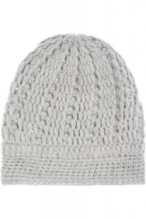 Madeleine Thomspon Dove-Gray Cashmere Hat